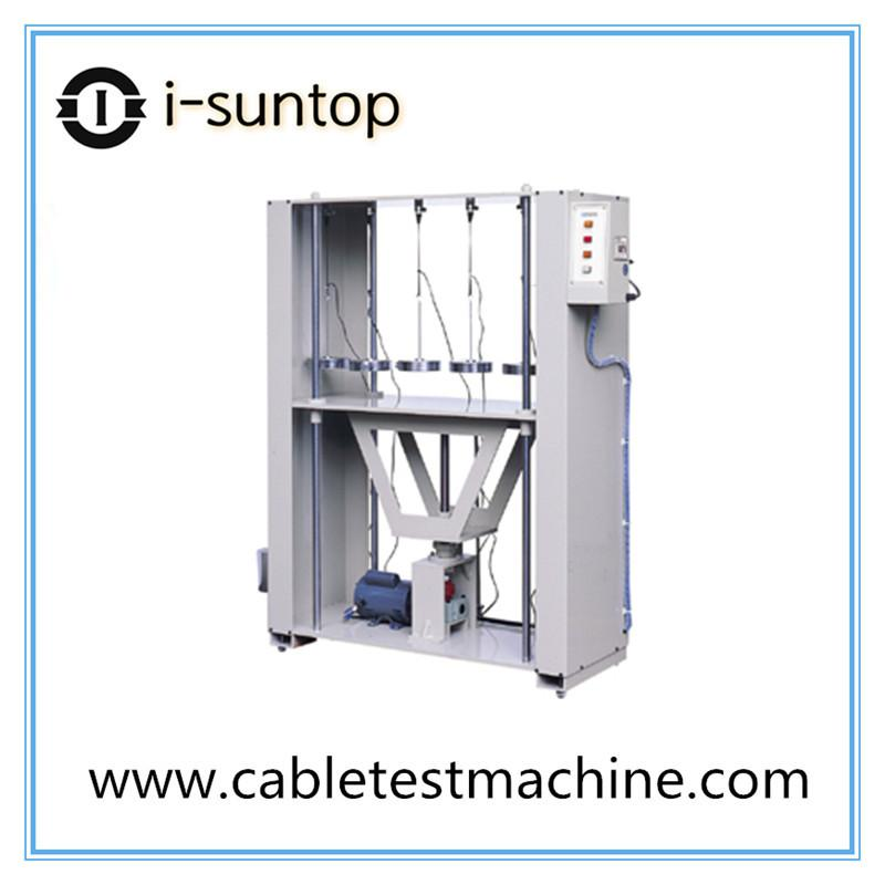 Plug wire stations pulling tester
