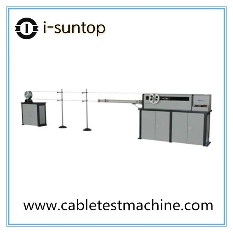 Computer controlled optical cable tension testing machine (Apply to bow-type optical cable)