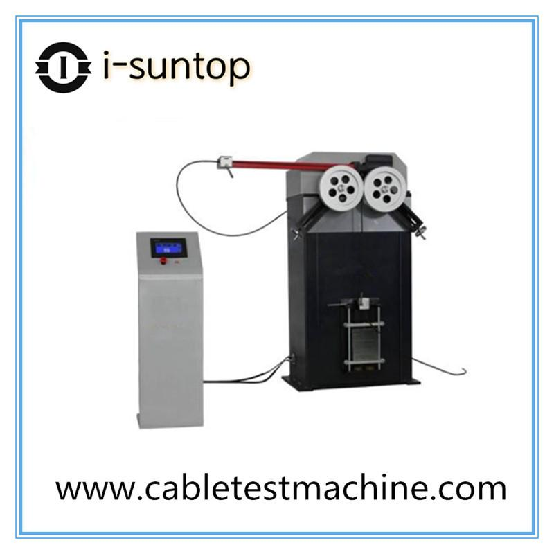 Optical cable repeated bending testing machine